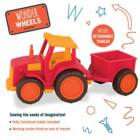 Wonder Wheels Traktor utánfutóval